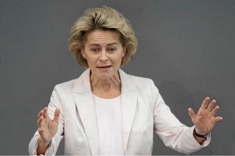La ministra de Trabajo alemana, Ursula von der Leyen.   Efe