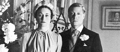 El duque de Windsor y Wallis Simpson, en su boda. | Gtres