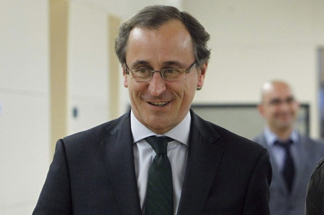 El portavoz del Grupo Popular en el Congreso, Alfonso Alonso. | Foto: Efe /Kiko Huesca.