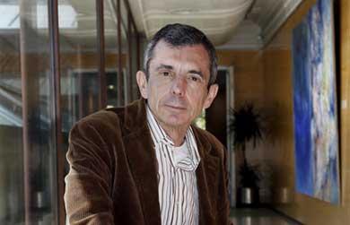 Francisco Guinea, en la sede de la Fundación BBVA.| Kike Para/BBVA