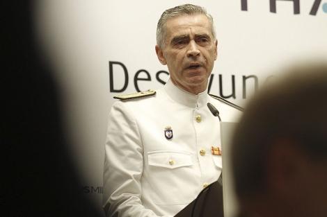 El Jefe de Estado Mayor de la Defensa (Jemad), Almirante Fernando García Sánchez. | Cuéllar.