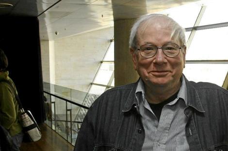 El escritor Yoram Kaniuk, durante una visita a Barcelona. | Christian Maury