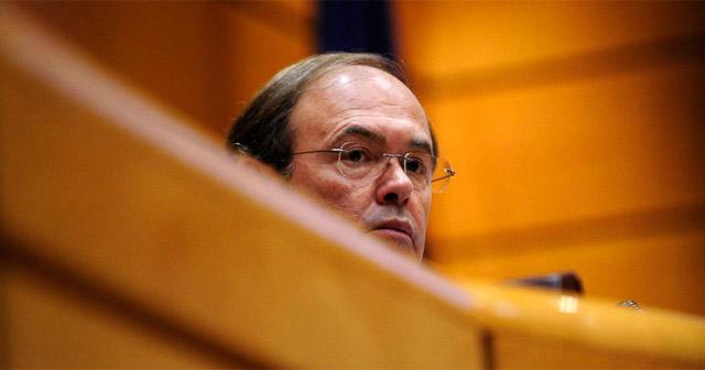 El presidente del Senado, Pío García Escudero. | Bernardo Díaz