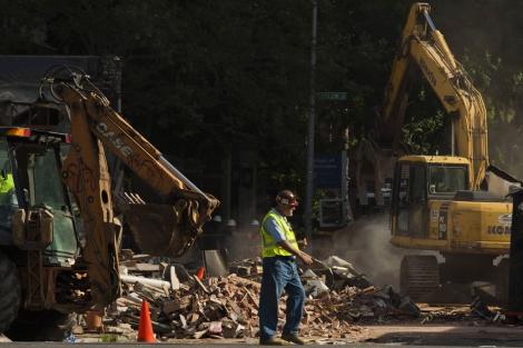 Un obrero de la construcción en Filadelfia (EEUU). | Eduardo Munoz