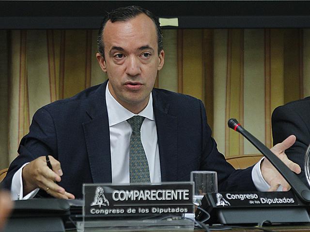 El secretario de Estado de Seguridad, Francisco Martínez, durante la Comisión de Interior en el Congreso. | Kote Rodrigo / Efe
