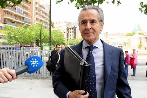 El expresidente de Caja Madrid Miguel Blesa. | Bernardo Díaz
