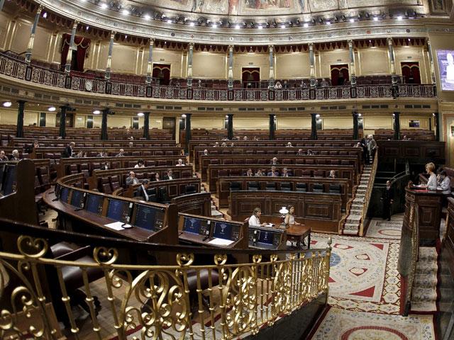 El Congreso, con muy pocos diputados, esta mañana. | Alberto Di Lolli