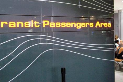 Área de tránsito en el aeropuerto de Sheremetyevo. | Reuters