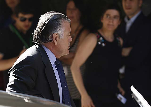 Luis Bárcenas, ayer al entrar en la Audiencia Nacional. | Reuters