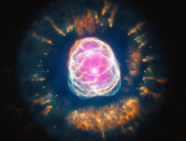 La 'nebulosa del Esquimal', captada por el telescopio Chandra. | NASA