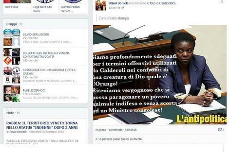 Mensaje publicado por Daniele Stival en su perfil de Facebook.