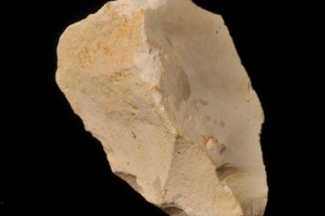 Sílex cretácico hallado en Atapuerca. | IPHES