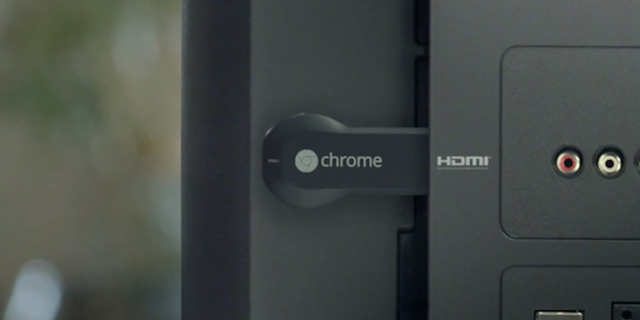 El nuevo dispositivo de Google, Chromecast.