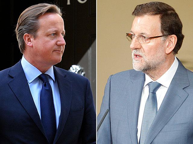 David Cameron y Mariano Rajoy. | Fotos: Afp / Ben Stansall | Carlos Barajas.