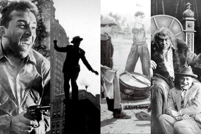 Fotogramas de 'Fear and Desire', 'Too Much Johnson', 'Los olvidados' y 'The patriot'.