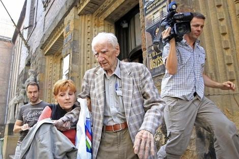 Laszlo Csatary el año pasado en Budapest. | Reuters