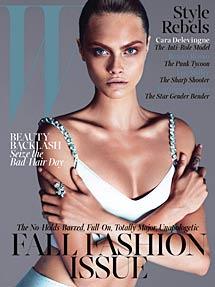 Portada de septiembre. | W Magazine
