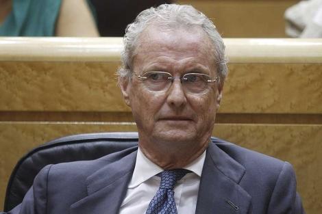 El ministro de Defensa, Pedro Morenés. | Foto: Alberto Cuéllar.