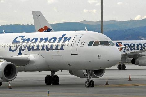 Avión de la compañía aérea Spanair | ELMUNDO