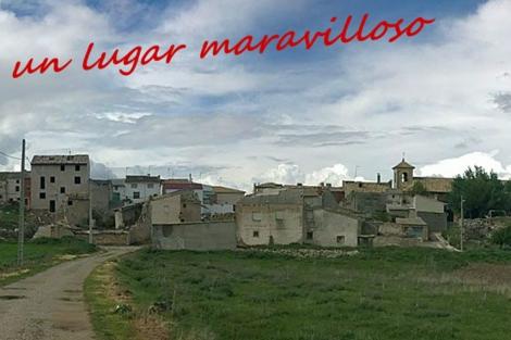 Una de las entradas al pueblo de Olmeda de la Cuesta. | olmedadelacuesta.com