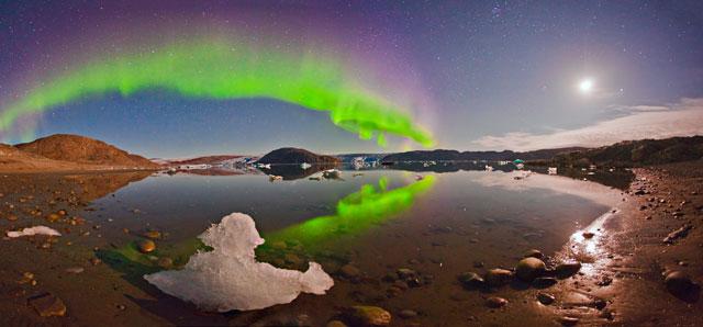 Aurora boreal fotografiada en Groenlandia en 2012. | Juan Carlos Casado/Shelios