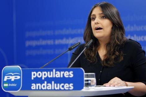 La presidenta nacional de Nuevas Generaciones, Beatriz Jurado | Efe