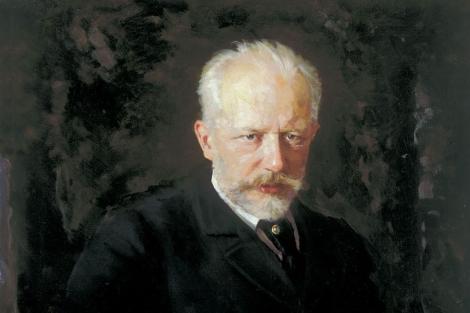 El compositor Tchaikovsky.