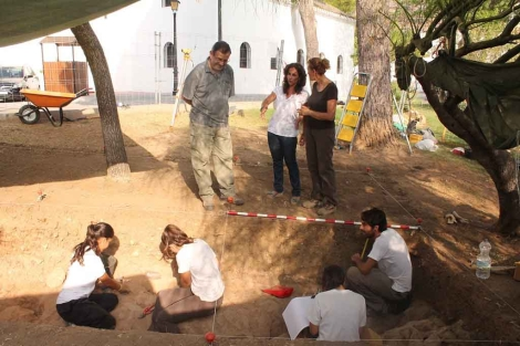 Trabajos arqueológicos en el municipio de Mijas. | ELMUNDO.es