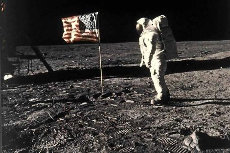 El astronauta Buzz Aldrin en la Luna (1969). | NASA