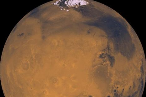 Imagen de Marte captada por la NASA. | EM