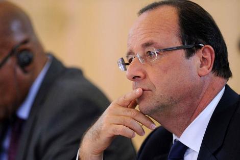 El presidente galo, François Hollande, en el G20. | Afp
