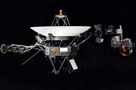 Recreación artística de la sonda Voyager 1. | NAS
