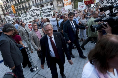 El alcalde de Barcelona, Xavier Trias. | Santi Cogolludo