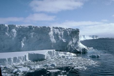 Desprendimiento de hielo en la Antártida. | Jonathan Bamber