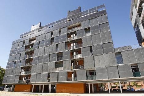 Edificio en Carabanchel adquirido por Goldman Sachs. | Sergio González