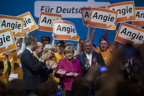 Imagen de Angela Merkel