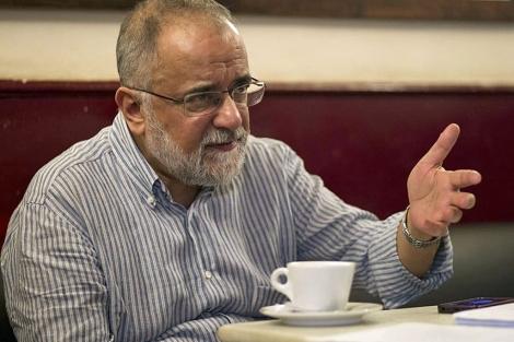 Ahmed Rashid, durante la entrevista.| Antonio Heredia
