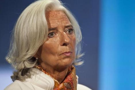 La directora gerente del FMI, Christine Lagarde. | Afp