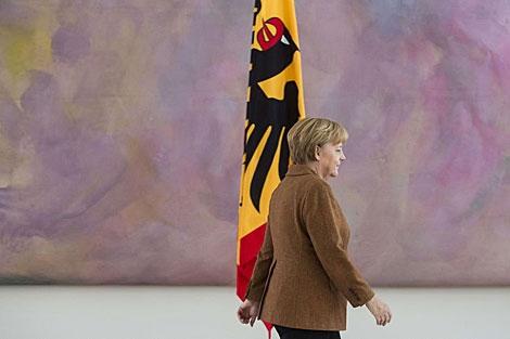 Angela Merkel. | Afp