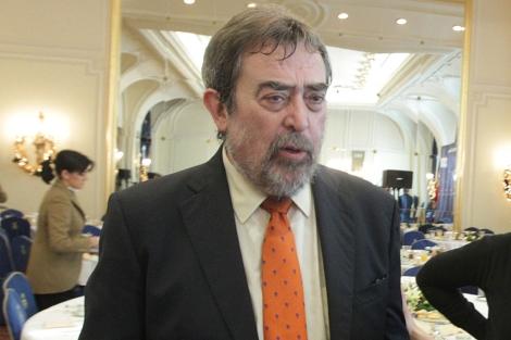 El alcalde de Zaragoza, Juan Alberto Belloch. | Foto: Paco Toledo.