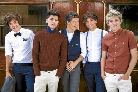 Los miembros de One Direction, en una fotografía promocional.