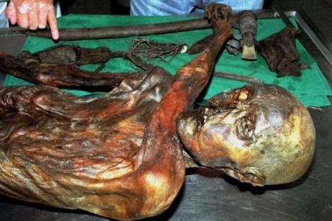 La momia de Ötzi. | Reuters