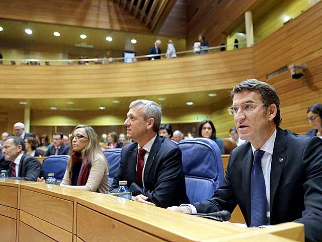 Debate sobre el estado de la autonomía de Galicia. | Foto: Efe /Lavandeira.
