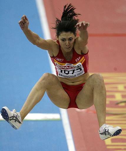 atletismo:salto de longitud