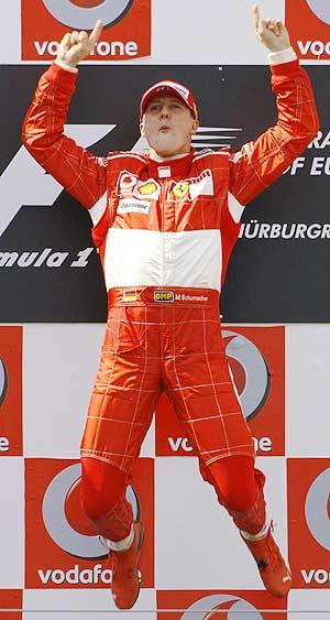 Michael Schumacher. 7 veces campeón del mundo.