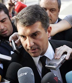 Joan Laporta. (Foto: AFP)