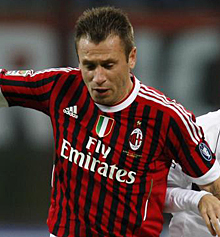 Antonio Cassano. | Ap