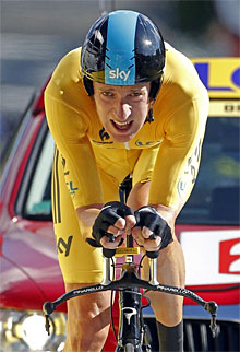 Bradley Wiggins. | Reuters