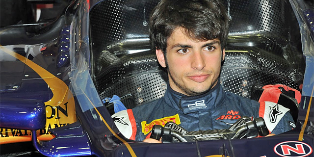 Carlos Sainz jr., a los mandos del Toro Rosso. | RV Racing Press