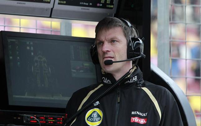 James Allison en su etapa en Lotus.